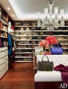 Gorgeous closet xoSocialite {South Shore Decorating Blog}