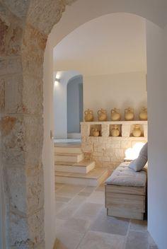Interior Architecture, Interior And Exterior, Interior Design, Santorini House, Piece A Vivre, Menorca, White Houses, Cozy House, Interior Inspiration