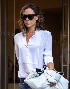 Victoria Beckham Photos Photos - Designer Victoria Beckham is seen leaving her hotel in New York City, New York on September 9, 2016. - Victoria Beckham Leaves Her New York Hotel