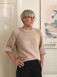 Saturday Night Sweater – PetiteKnit Sweater Knitting Patterns, Knitting Designs, Stockinette, Casual Winter Outfits, Streetwear, Knitting For Beginners, Pullover, Couture, Saturday Night