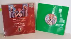 GIN BLOSSOM hey jealousy, 8 inch limited edition green square single, GIN 312 - SINGLES all genres, Including PICTURE DISCS, DIE-CUT, 7' 10' AND 12'
