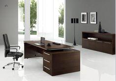 Sam B High End Desk Modern Executive Office Interiors Desks