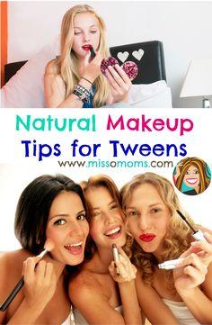 safe makeup for tweens and younger girls  natural makeup