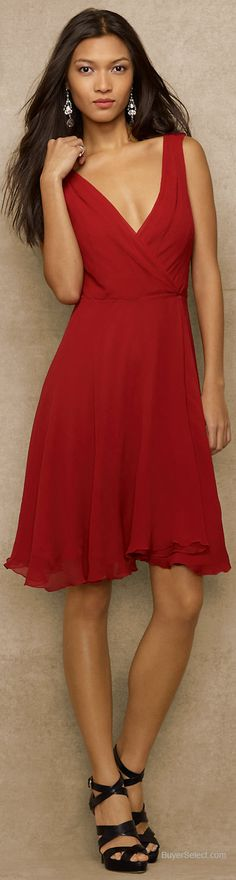 Ralph Lauren dress - I love the soft style of this dress and the way it falls. I don't wear short dresses so would opt for a longer length. I love the material - not sure if it is chiffon.