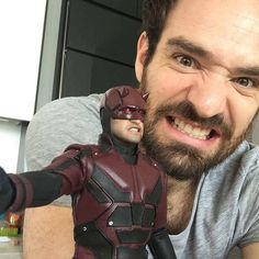 A huge thanks to Charlie Cox for being the absolute best Daredevil we could ask for. Daredevil Punisher, Daredevil Funny, Marvel Fan, Marvel Dc Comics, Thor Marvel, Charlie Cox, Daredevil Matt Murdock, Defenders Marvel, Marvel Series
