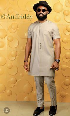 AmDiddy African Wear Styles For Men, African Dresses Men, African Attire For Men, African Clothing For Men, African Style, Nigerian Men Fashion, African Men Fashion, Mens Fashion, African Print Shirt