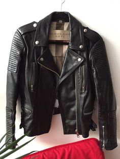 Buy Burberry Prorsum Motorcycle Biker Jacket, Size: S,. Informations About Burberry × Burberry Pro Burberry Leather Jacket, Best Leather Jackets, Leather Jacket Outfits, Leather Jacket Man, Burberry Brit Jacket, Jacket Men, Burberry Prorsum, All Black Outfit, Motorcycle Jacket