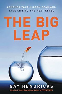 The Big Leap: Conquer Your Hidden Fear and Take Life to the Next Level by Gay, PhD Hendricks http://www.amazon.com/dp/0061735361/ref=cm_sw_r_pi_dp_1B-Jwb0G1PEAR