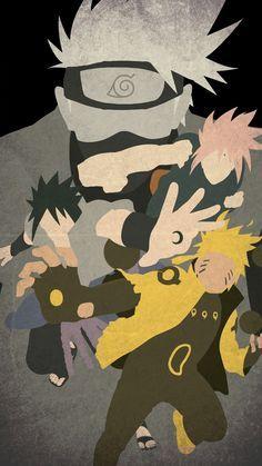 Naruto Minimalist Mobile Wallpaper Anime Naruto Naruto Shippuden Sasuke Naruto Cool Boruto