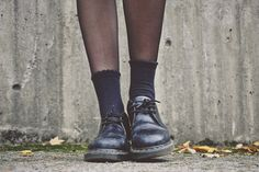 dr martens with socks