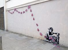 Banksy Street Art of the Day