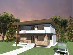 proiect casa senator magazinul de proiecte - Casa Cub Moderne