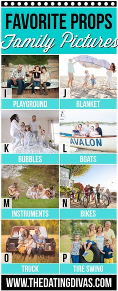 Prop Ideas for Family Pictures