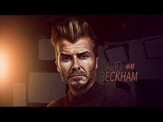 "Photoshop Caricature Design ""David Beckham"" - YouTube David Beckham, Caricature, Halloween Face Makeup, Photoshop, Digital, Youtube, Model, Movie Posters, Design"
