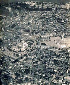 Beyazıt ve Süleymaniye Bölgesi Hava Fotoğrafı