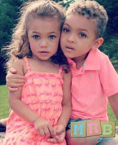those are two of the prettiest children I have ever seen