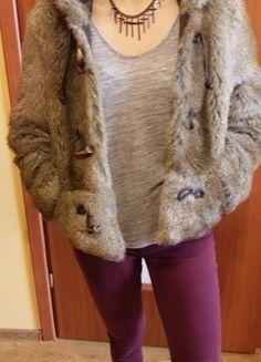 Kup mój przedmiot na #vintedpl http://www.vinted.pl/damska-odziez/okrycia-wierzchnie-inne/13130688-nowe-futerko-only-m-38