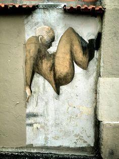 Philippe Hérard - street art - paris 20, rue des couronnes (mai 2014)