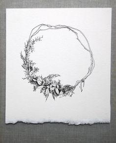 spencer studio drawing for Midsummer Night Fete at Shelter Half