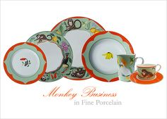 Monkey Business (Porcelain)