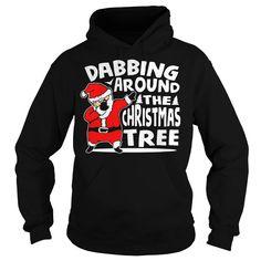 0 DABBING SANTA CLAUS FUNNY CHRISTMAS DAB NOVELTY SHIRT_BLACK
