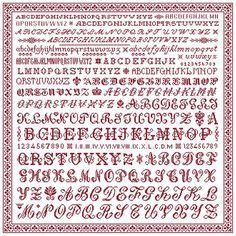 Grandma's Sampler de Clorami Designs  www.clorami-designs.be