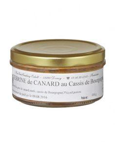 Terrine de canard au cassis de Bourgogne par FOIE GRAS COUDRAY OZBOLT