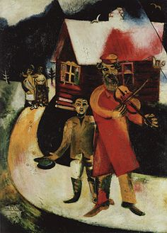 El violinista, 1911-1914, Marc Chagall