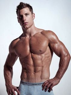 Men's fitness inspiration muscle