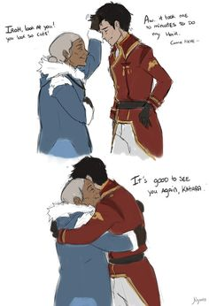 NEEDS to happen. Then finish with the story of Zuko's mother...