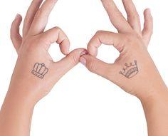 Companion Crown tattoo