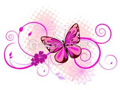 Colorful butterfly — Stock Illustration #3143295