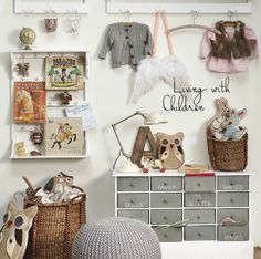 kid's room storage ideas