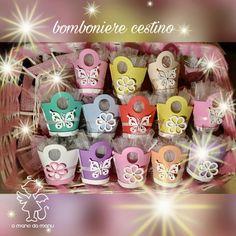 Cestini colorati in gomma crepla per comunione https://www.facebook.com/amanodamanu/