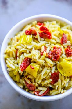 Orzo Salad With Sun Dried Tomatoes Recipe Food Com. Orzo With Sun Dried Tomatoes And Basil Pesto Sweet Cs . Italian Orzo Tuna Salad Gimme Some Oven. Home and Family Kebab Recipes, Pork Chop Recipes, Chicken Recipes, Baked Garlic, Baked Pork, Oven Baked, Pesto Recipe, Asparagus Recipe, Recipe Tasty