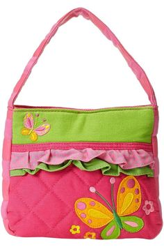 (This is an affiliate pin) Stephen Joseph Apparel Toddler Kids Zip Wallet, Purse Wallet, Coin Purse, Vera Bradley Tote, Cute Purses, Girls Accessories, Leather Handle, Purses And Handbags, Fashion Handbags