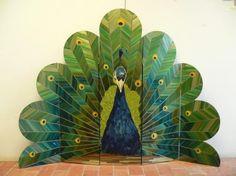 Peacock Room Divider