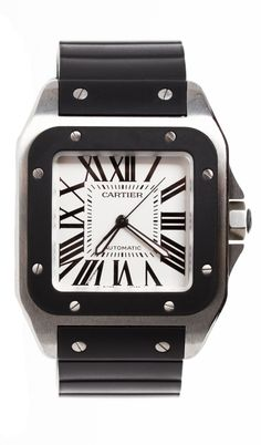 CARTIER WATCH love, love, love it black and steel