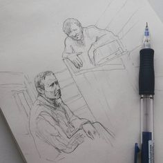 """""""Я - подкидыш. У меня справка об освобождении оглобля! Я завтра пойду и получу такой же паспорт как у тебя. Точно такой же! За исключением маленькой пометочки которую никто не читает."""" #drawing #illustration #portrait #sketch #pencil #sketchbook #art #artwork #painting #eskiz #topcreator #портрет #рисунок #карандаш #набросок #эскиз"""