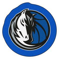 33592a596 FANMATS NBA - Dallas Mavericks Mascot Mat 36 in. x 36 in. Indoor Area Rug