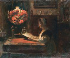 Frederick Vezin - Evening Reading