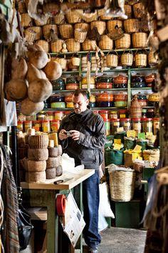 Naxos Food Shop, Greece, a wonderful shop. Mykonos, Santorini, Naxos Greece, Greek Culture, Greek Recipes, Greek Islands, Greece Travel, Albania, Boutiques