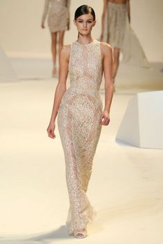 Elie Saab, Paris Fashion Week Spring 2013