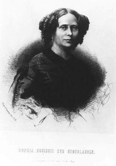 Queen Sophie of The Netherlands, princess of Württemberg - J.H. Hoffmeister, 1860