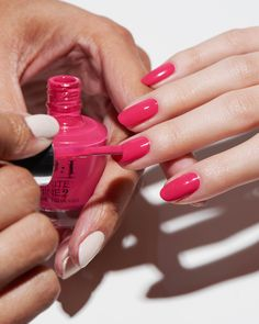 Try the OPI Infinite Shine system for a gel-like manicure without the light. Shade shown: This Isn't Whine Country. Colorful Nail Designs, Cute Nail Designs, Vacation Nails, Manicure E Pedicure, Nail Envy, Nail Fungus, Opi Nails, Perfect Nails, Nail Polish Colors