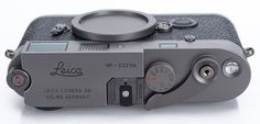 Gorgeous and Very Rare Leica MP Titanium Available for the First Time Outside of Japan