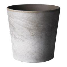 IKEA - MANDEL, Urtepotteskjuler, 10.5 cm, , Overfladebehandlet indvendig. Gør urtepotteskjuleren vandtæt.