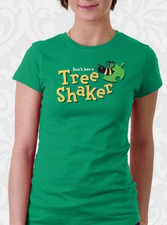 Animal Crossing Video Game Tree Shaker Bee Tshirt. 100% cotton shirt. Men. Women. Kids.