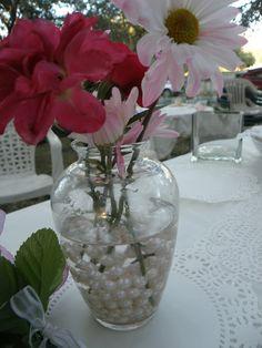 Tea party, vintage decorations
