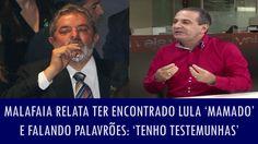 Malafaia relata ter encontrado Lula 'mamado' e falando palavrões: 'Tenho...